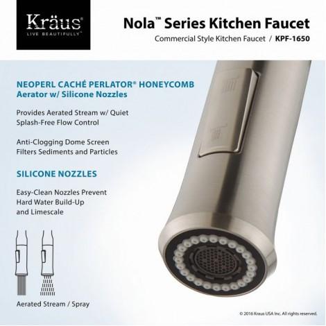 KPF-1650 Смеситель для кухни