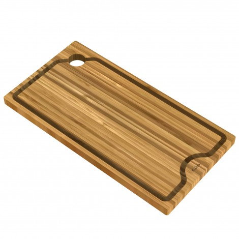 "Workstation Kitchen Sink 9"" Solid Bamboo Cutting Board"