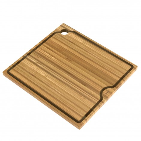 "Workstation Kitchen Sink 16"" Solid Bamboo Cutting Board"