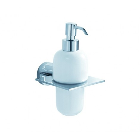 Discontinued-KRAUS Imperium Bathroom Accessories - Wall-mounted Ceramic Lotion Dispenser