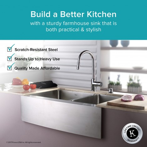 KHF203-33 Кухонная мойка серии Precision