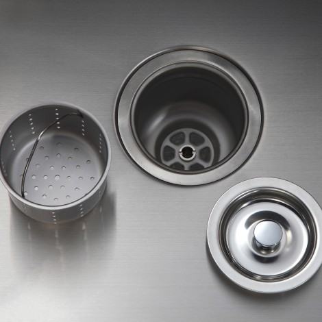 KRAUS 30 Inch Undermount 60/40 Double Bowl 16 Gauge Stainless Steel Kitchen Sink with NoiseDefend™Soundproofing