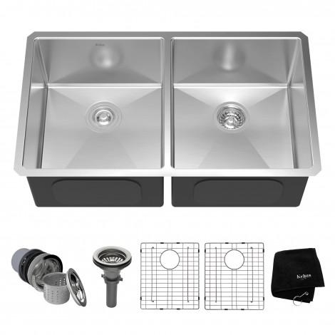 KHU102-33 Кухонная мойка серии Precision