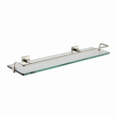 KRAUS Aura Bathroom Accessories Shelf with Railing
