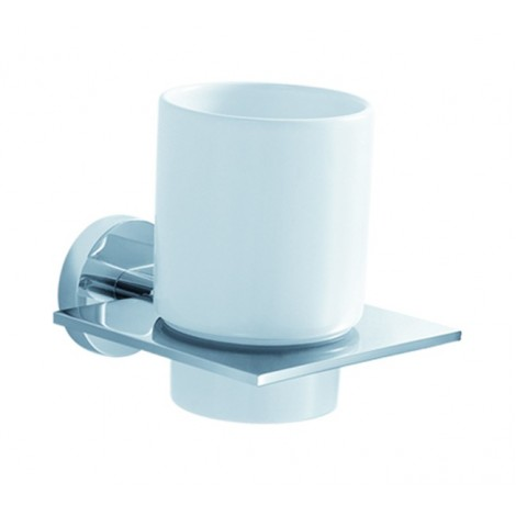 Disontinued - KRAUS Imperium Bathroom Accessories - Wall-mounted Ceramic Tumbler Holder